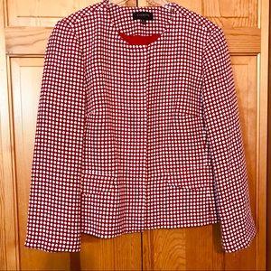 Talbots Wool Blend Blazer Zip Jacket Sz 16
